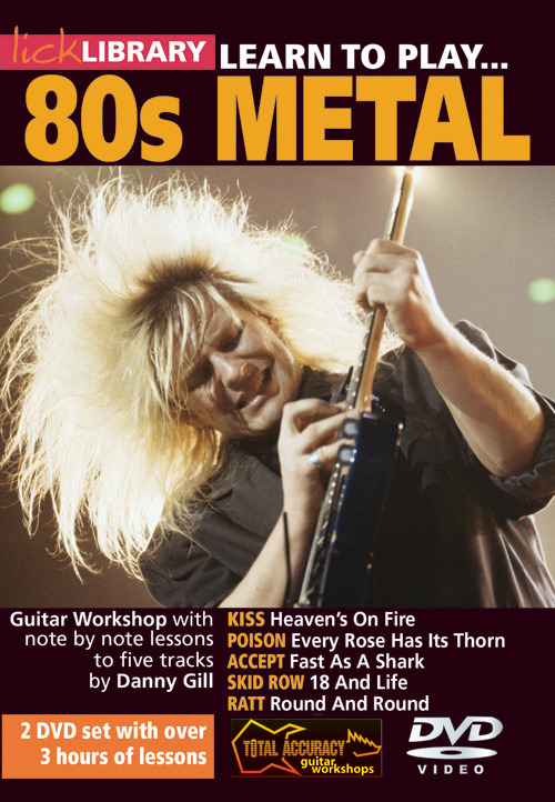 LickLibrary LearnToPlay80sMetal