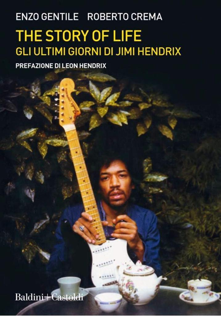 JIMI HENDRIX The Story Of Life cover