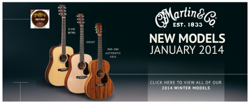 NAMM2014 MartinGuitars