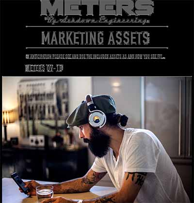 METERS OV 1B HEADPHONES