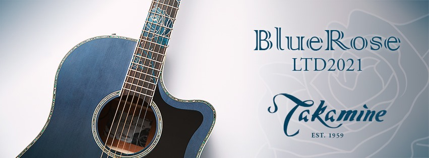 Takamine Blue Rose LTD2021
